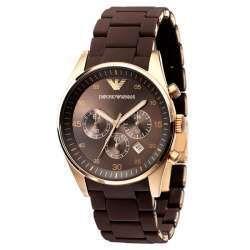 02fa0f764c3 Relógio Masculino Armani AR5890 - Marrom - Loja Importados Brasil Ltda